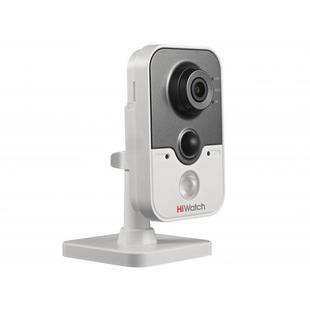 HiWatch DS-I114 6мм (белый) - Камера видеонаблюденияКамеры видеонаблюдения<br>IP-камера, матрица: 1/2.8 Progressive scan CMOS, объектив 6мм, дальность действия ИК-подсветки: до 10м.