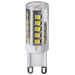 Лампа светодиодная Navigator 71267 G9, G9, 5Вт, 4000К - ЛампочкаЛампочки<br>Лампа светодиодная Navigator 71267 G9, G9, 5Вт, 4000К - форма колбы: капсула, тип цоколя: G9, мощность: 5 Вт, напряжение: 220-240 В, свет: дневной белый, степень пылевлагозащиты: IP20, цветовая температура: 4000 К, световой поток: 420 лм, индекс цветопередачи: 79 Ra, диаметр: 16 мм, срок службы: 30000 ч