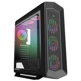 Компьютерный корпус GameMax G516 Asgard RGB Black - КорпусКорпуса<br>Компьютерный корпус GameMax G516 Asgard RGB Black - ATX, mATX, Mini-ITX, Midi-Tower, сталь, без блока питания, 3xUSB на лицевой панели, 206x522x452 мм, цвет: черный