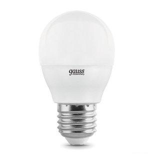 Лампа Gauss LED Elementary Шар 12W 920lm E27 4100K (53222) - Лампочка
