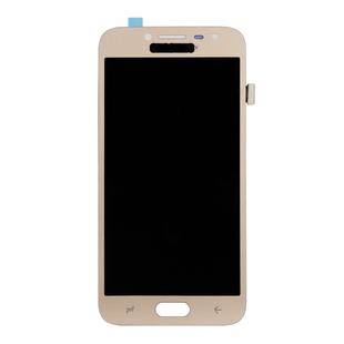 Дисплей для Samsung Galaxy J2 (2018) с тачскрином Qualitative Org (LP) (золотистый) - Дисплей, экран для мобильного телефонаДисплеи и экраны для мобильных телефонов<br>Полный заводской комплект замены дисплея для Samsung Galaxy J2 (2018). Стекло, тачскрин, экран для Samsung Galaxy J2 (2018) в сборе. Если вы разбили стекло - вам нужен именно этот комплект, который поставляется со всеми шлейфами, разъемами, чипами в сборе.