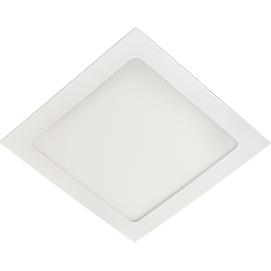 Светильник Ecola downlight (DSRD90ELC) - СветильникВстраиваемые светильники<br>Светильник даунлайт LED, квадрат, белый, Ecola downlight, 9W, 220V, 6500K, 145x145x20.