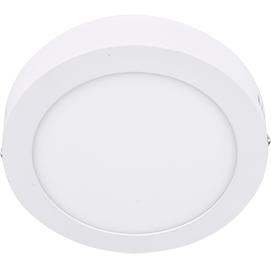 Светильник Ecola downlight (DRSD60ELC) - СветильникВстраиваемые светильники<br>Светильник даунлайт, накладной круг, белый, LED, Ecola downlight, 6W, 220V, 6500K, 120x32.