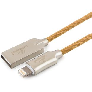 Кабель USB 2.0 A (m) - Lightning (m) 1.8 м (Cablexpert CC-P-APUSB02Gd-1.8M) (золотистый) - Кабели