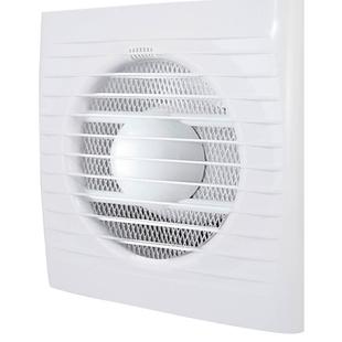 TDM SQ1807-0202 (белый) - ВентиляторВентиляторы вытяжные<br>Бытовой настенный вентилятор, мощность: 14 Вт, производительность: 180 м3/ч, диаметр, мм: 125, степень защиты IP24.