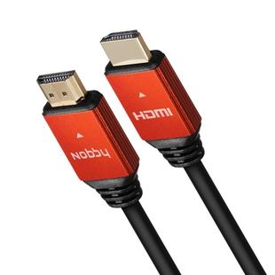 Кабель HDMI M-HDMI M 3м (Nobby NBС-HC-30-01) (черный) - HDMI кабель, переходникHDMI кабели и переходники<br>Кабель для передачи качественного цифрового видео и звука на высокой скорости, позолоченные контакты, длина 3м.