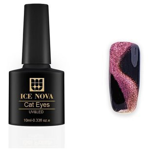Гель-лак ICE NOVA VIP 5D Cat Eye 10