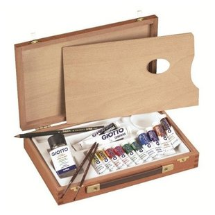 GIOTTO Набор для художника Wooden Case Basic (507000)