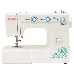 Janome LW-20 (белый) - Швейная машина