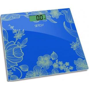 Sinbo SBS-4429 (бирюзовый) - Напольные весыНапольные весы<br>Sinbo SBS-4429 - электронные, максимальная нагрузка 180 кг, точность измерения 0.1 кг