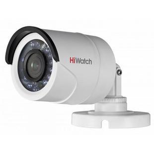 HiWatch DS-T200P 3.6мм (белый) - Камера видеонаблюденияКамеры видеонаблюдения<br>HD-TVI камера, 1/2.7 Progressive Scan CMOS, разрешение 2 Мп, ИК-подсветка до 20м, IP66.