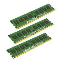 Kingston KVR1066D3E7SK3/3G - Память для компьютераМодули памяти<br>Kingston KVR1066D3E7SK3/3G - 3 модуля памяти DDR3, объем модуля 1 Гб, форм-фактор DIMM, 240-контактный, частота 1066 МГц, поддержка ECC, CAS Latency (CL): 7