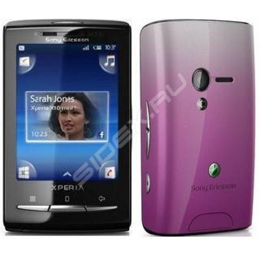 Sony Ericsson Xperia X10 Mini Pearl Whiteredpink купить
