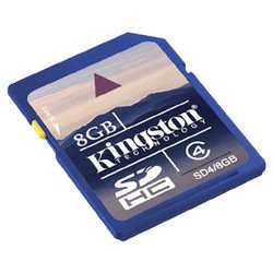 kingston sdhc 8gb class 4 (sd4/8gb)