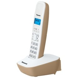 Panasonic KX-TG1611RUJ (бело-бежевый) - Радиотелефон