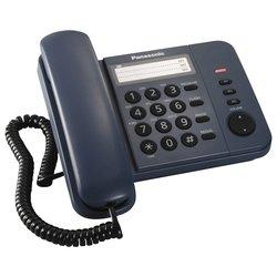 Panasonic KX-TS2352RUC (синий) - Проводной телефон