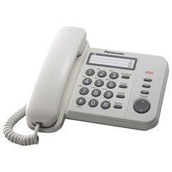 Panasonic KX-TS2352RUW (белый) - Проводной телефон