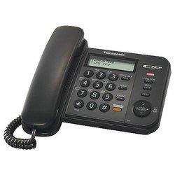 Panasonic KX-TS2358RUB (черный) - Проводной телефон
