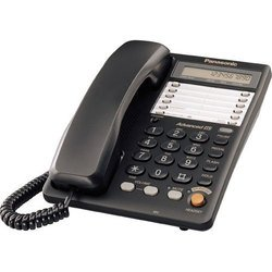Panasonic KX-TS2365RUB (черный) - Проводной телефон