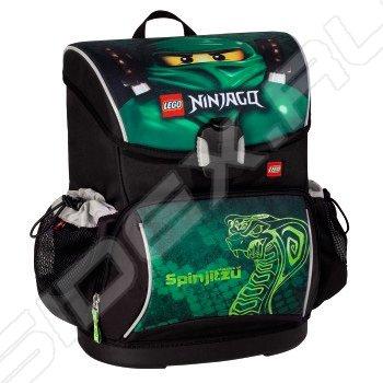 838477536e97 РосТест - официальная гарантия производителя ранец школьный lego ninjago  green ultimate (зеленый) с аксессуарами