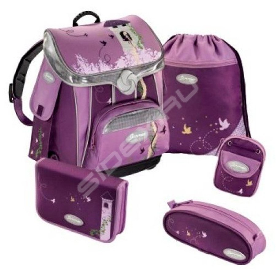 3923fffd5e4e РосТест - официальная гарантия производителя ранец школьный fairy hair  premium sammies by samsonite (пурпурный) с аксессуарами