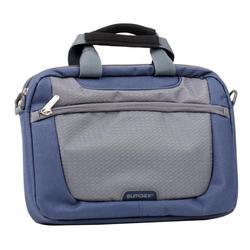 Sumdex PON-308 (синий/серый) - Сумка для ноутбукаСумки и чехлы<br>Sumdex PON-308 - сумка, женская модель, для 10quot; ноутбуков, из синтетических материалов, отделение-органайзер, водонепроницаемый материал