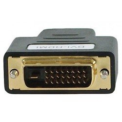 Переходник DVI — HDMI (f) - HDMI кабель, переходникHDMI кабели и переходники<br>Переходник DVI — HDMI (f) предназначен для устройств с соответствующими разъемами.