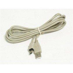 Кабель USB A (m) - mini USB B (m) 1.8м (белый) - Кабель, переходник
