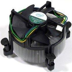 Intel   - Кулер, охлаждениеКулеры и системы охлаждения<br>Intel  - вентилятор, используемый для активного воздушного охлаждения процессора, алюминиевый радиатор