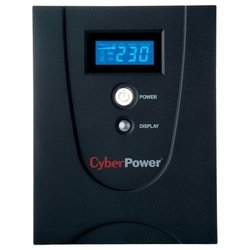 CyberPower VALUE2200EILCD - Источник бесперебойного питания, ИБПИсточники бесперебойного питания<br>CyberPower VALUE2200EILCD - интерактивный источник бесперебойного питания, 1-фазное входное напряжение, выходная мощность 2200 ВА 1320 Вт, 2 мин работы при полной нагрузке, 8 мин работы при половинной нагрузке, выходных разъемов: 6 (с питанием от батарей - 6), интерфейсы: USB, RS-232