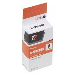 Картридж для Canon PIXMA iP100 (T2 IC-CPGI-35Bk) (черный) + чип - Картридж для принтера, МФУ