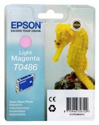 Картридж для Stylus Photo R220, 330, 330ME, 340, 320, 200, RX500, 620, 640, 600 (Epson T048640) (светло-пурпурный) - Картридж для принтера, МФУ