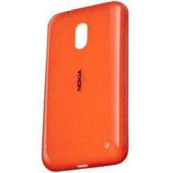 Чехол для Nokia Lumia 620 (CC-3057) (оранжевый) - Чехол для телефонаЧехлы для мобильных телефонов<br>Надежный аксессуар поможет защитить Ваше устройство от нежелательных внешних повреждений. А также придаст новый вид Вашему смартфону.