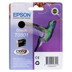 Картридж для Stylus Photo P50, PX660 (Epson  T08014011) (черный)  - Картридж для принтера, МФУКартриджи<br>Совместим с моделями: Stylus Photo P50, PX660.