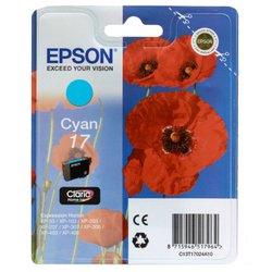 Картридж для Epson Expression Home XP-33, 207 (Epson  T17024A10) (голубой) - Картридж для принтера, МФУ