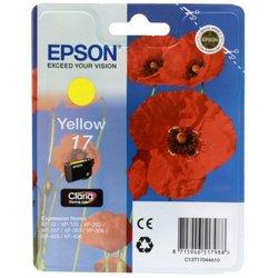 Картридж для Epson Expression Home XP-33, 207 (Epson  T17044A10) (желтый) - Картридж для принтера, МФУКартриджи<br>Совместим с моделями: Epson Expression Home XP-33, 207.