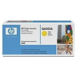 Картридж для HP Color LaserJet 1600, 2600, 2605, CM1015 MFP (Q6002A) (желтый) - Картридж для принтера, МФУ