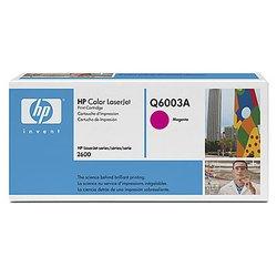 Картридж для HP Color LaserJet 1600, 2600, 2605, CM1015 MFP (Q6003A) (пурпурный) - Картридж для принтера, МФУ