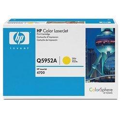Картридж для HP Сolor LaserJet 4700 (Q5952A) (желтый) - Картридж для принтера, МФУКартриджи<br>Совместим с моделями: HP Сolor LaserJet 4700