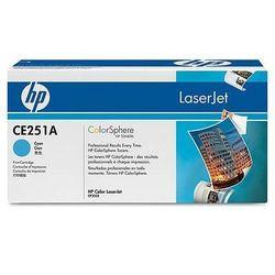 Картридж для HP Color LaserJet CM3530, CP3525 (CE251A) (голубой) - Картридж для принтера, МФУКартриджи<br>Совместим с моделями: HP Color LaserJet CM3530, CP3525