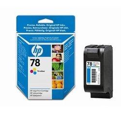 Картридж для HP Deskjet  930, 950, 959, 970, 980, 990, 1220 (C6578D №78) (цветной) - Картридж для принтера, МФУ