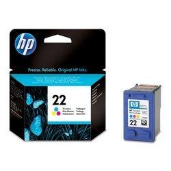 Картридж для HP DJ 3920, 3940, PSC 1410 (C9352AE №22) (цветной) - Картридж для принтера, МФУКартриджи<br>Совместим с моделями: HP DJ 3920, 3940, PSC 1410