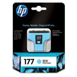 Картридж для HP Photosmart 8250, 8253, 3210, 3310 (C8774HE №177) (светло-голубой) - Картридж для принтера, МФУКартриджи<br>Совместим с моделями: HP Photosmart 8250, 8253, 3210, 3310