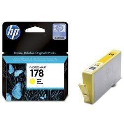 Картридж для HP Photosmart B8553, C5383, C6383, D5463, C309h, C310b, C309c, C410c (CB320HE №178) (желтый) - Картридж для принтера, МФУКартриджи<br>Совместим с моделями: HP Photosmart B8553, C5383, C6383, D5463, C309h, C310b, C309c, C410c