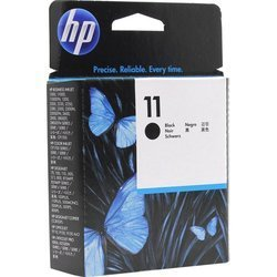 Печатающая головка для HP Business Inkjet 1100, 1200, 2200, 2230, 2250, 2280, 2600 и 2800, HP Designjet 500, 500PS, 510, 800, 800PS, HP cp1700, HP Designjet 70, HP Designjet Copier cc800ps, Officejet Pro K850 (C4810A №11) (черный) - Картридж для принтера,