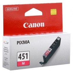 Картридж для Canon iP8740, MG6340, MG7140, MG7540 (CLI-451M) (пурпурный) - Картридж для принтера, МФУКартриджи<br>Совместим с моделями: Canon iP8740, MG6340, MG7140, MG7540