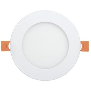 Светильник ДВО 1602 (Iek LDVO0-1602-1-7-K02) - СветильникВстраиваемые светильники<br>Светильник ДВО 1602, белый, круг, LED, 7Вт, 4000К, IP20, алюм. корпус, 120 мм.