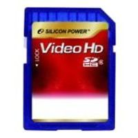 silicon power sdhc class 6 video hd 4gb