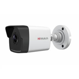 HiWatch DS-I400 2.8мм (белый) - Камера видеонаблюденияКамеры видеонаблюдения<br>Цилиндрическая IP-камера, матрица: 1/3quot; Progressive scan CMOS, объектив 2.8мм, дальность действия EXIR-подсветки: до 30м, Smart ИК.