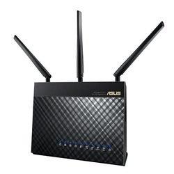 ASUS RT-AC68U (черный) - Wifi, Bluetooth адаптерОборудование Wi-Fi и Bluetooth<br>Wi-Fi-точка доступа (роутер), стандарт Wi-Fi: 802.11a/b/g/n/ac, макс. скорость беспроводного соединения: 1900 Мбит/с, коммутатор 4xLAN, поддержка VPN, скорость портов 1000 Мбит/сек, интерфейс встроенного принт-сервера: USB